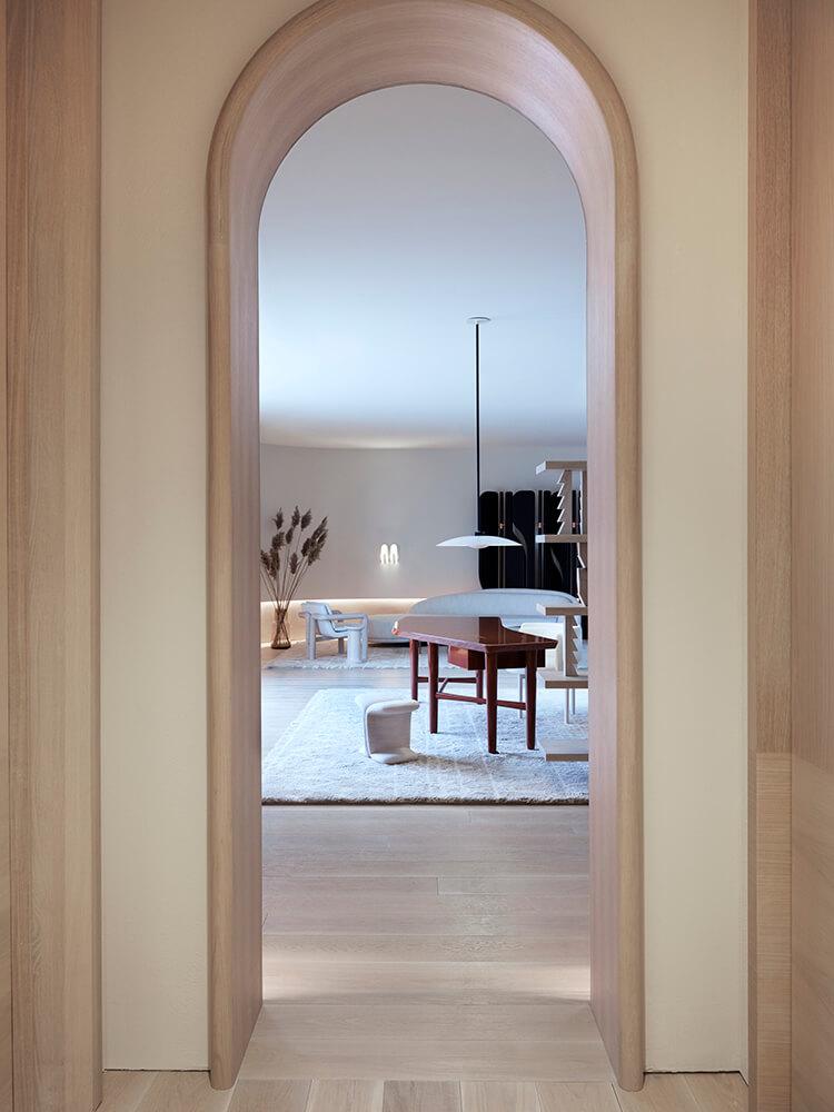 Photo of Zibi House foyer
