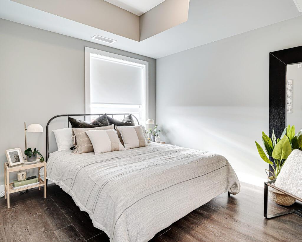 Bedroom view with bed as focus Brighton Village Rentals