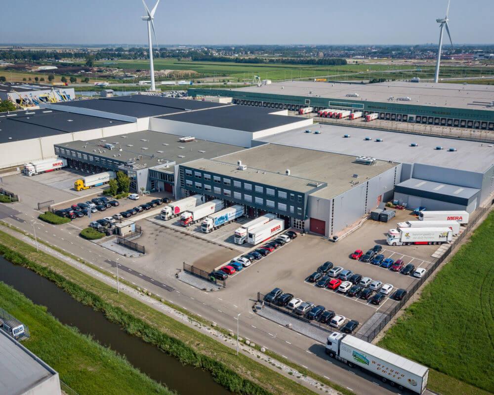 Aerial image of Dream Industrial Warehouse Building 2–20 Exportweg - Waddinxveen, NLD