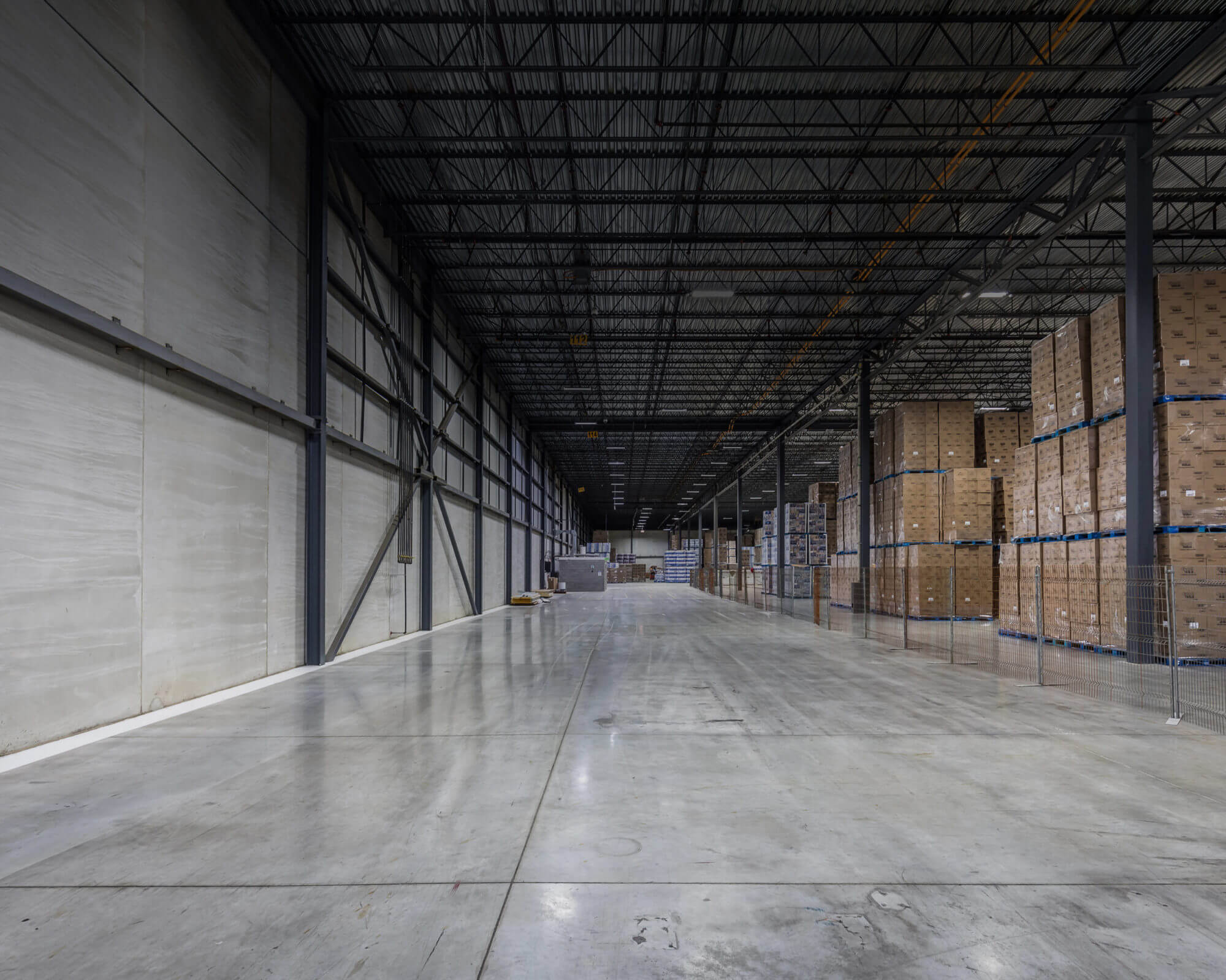 image of dream industrial empty warehouse building