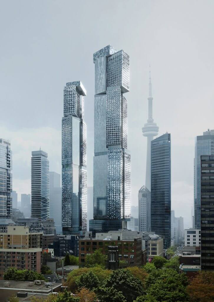 Frank Gehry project taking shape on Toronto's King West